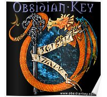 Obsidian Key - SLY Dragon - Progressive Rock Metal Music - Epic Style - (Branded) Poster