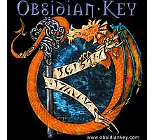 Obsidian Key - SLY Dragon - Progressive Rock Metal Music - Epic Style - (Branded) Photographic Print