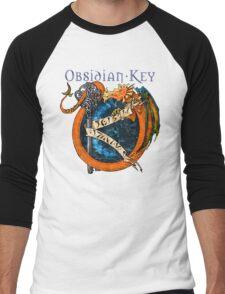 Obsidian Key - SLY Dragon - Progressive Rock Metal Music - Epic Style - (Branded) Men's Baseball ¾ T-Shirt