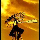 Texas Windmill by Karen Keaton