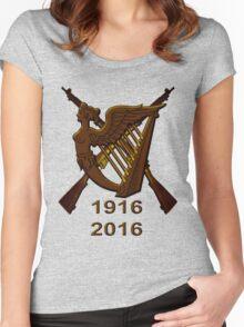 1916 Irish republic 2016  Women's Fitted Scoop T-Shirt