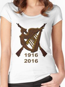 1916 Irish republic 2016  Women's Fitted Scoop T-Shirt