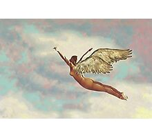 Free Falling Photographic Print