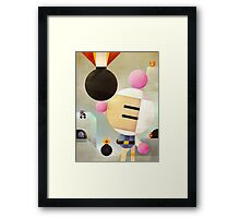 Bomberman remixed Framed Print