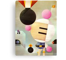 Bomberman remixed Canvas Print