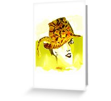 The Plumed Hat Greeting Card