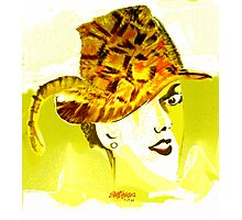 The Plumed Hat Photographic Print