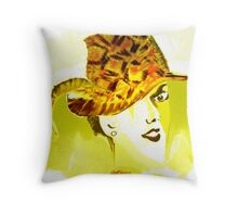 The Plumed Hat Throw Pillow