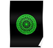 Caledo Green Sphere Poster