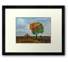 Prairie Tree 150203 Framed Print
