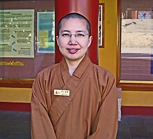 Nan Tien Buddhist Temple - Ven. Ru Yi  by Vanessa Pike-Russell