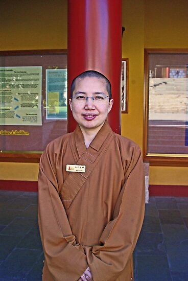Nan Tien Buddhist Temple - Ven. Ru Yi  by Vanessa Pike-Russell