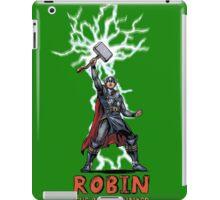 Robin: the boy thunder iPad Case/Skin