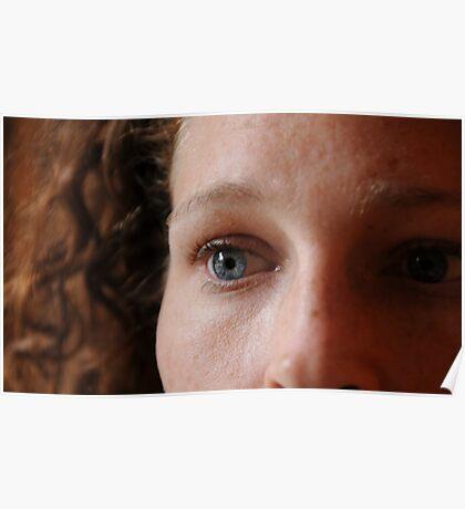 Blue eyed soul Poster