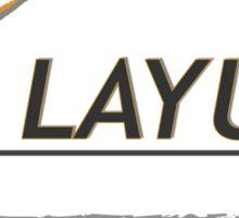 NoLayUps Sticker