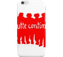 Paris 68 Uprising 1 iPhone Case/Skin