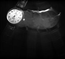 Drink liquid clocks. by Nina Elise Vossen