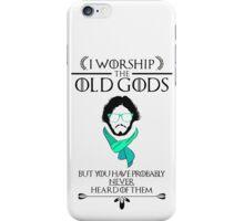 Hipster Jon Snow - Game of Thrones T-Shirt iPhone Case/Skin