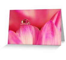 PINK Collection for the Cure - Her tears Greeting Card