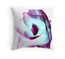 Flower - UK617/10 - www.lizgarnett.com Throw Pillow