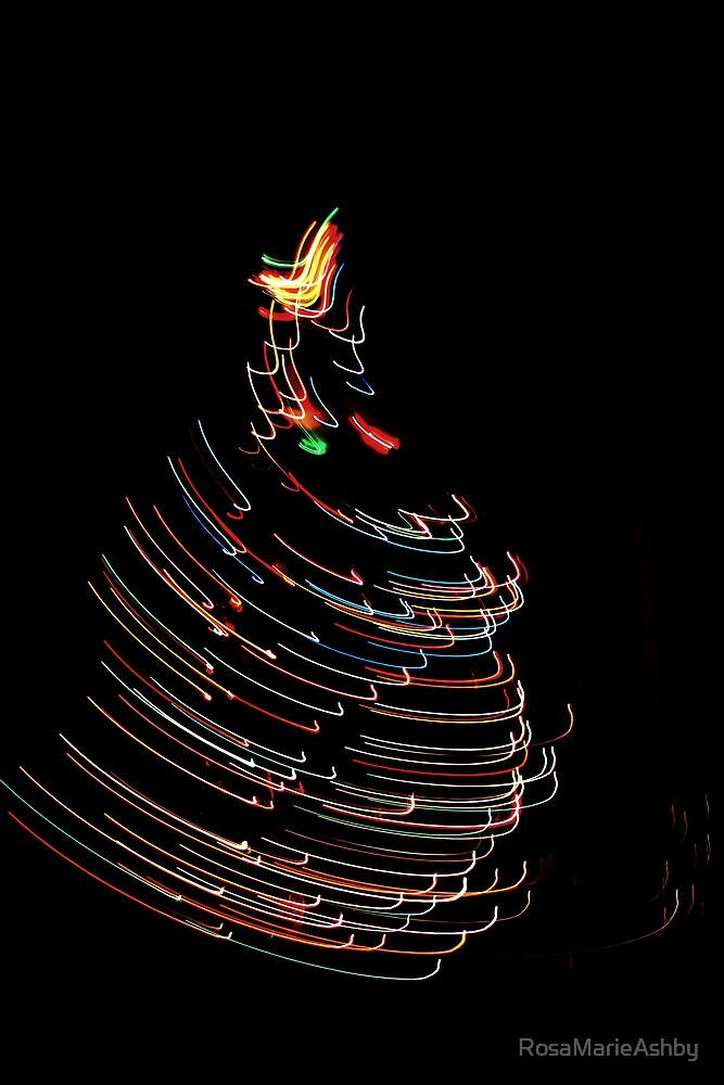 Merry Christmas in a Whirl by RosaMarieAshby