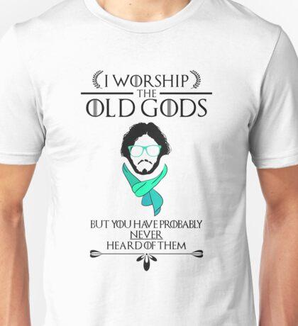 Hipster Jon Snow - Game of Thrones T-Shirt Unisex T-Shirt