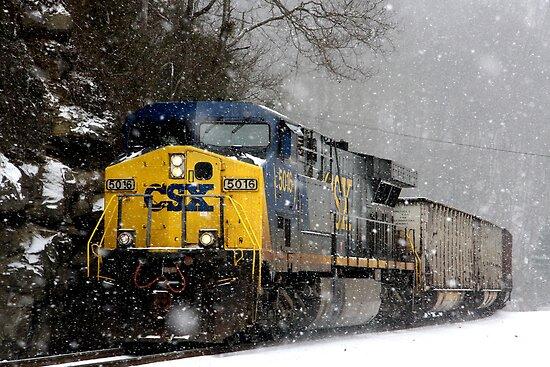Snow Storm CSX by RosaMarieAshby