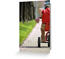 Pedal to the Metal Greeting Card