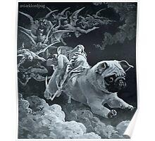 Death Rides a Pale Pug Poster