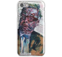 Another Leftie Teacher Moaning Away iPhone Case/Skin