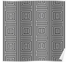 Hypnotic Pattern I Poster