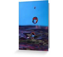 Drip Drops Greeting Card