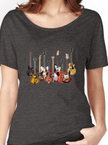 Electric Guitars Women's Relaxed Fit T-Shirt