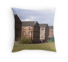 Tenements low rise Throw Pillow