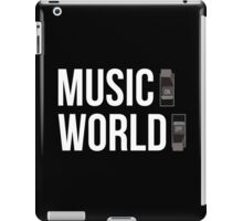 Music ON, World OFF iPad Case/Skin