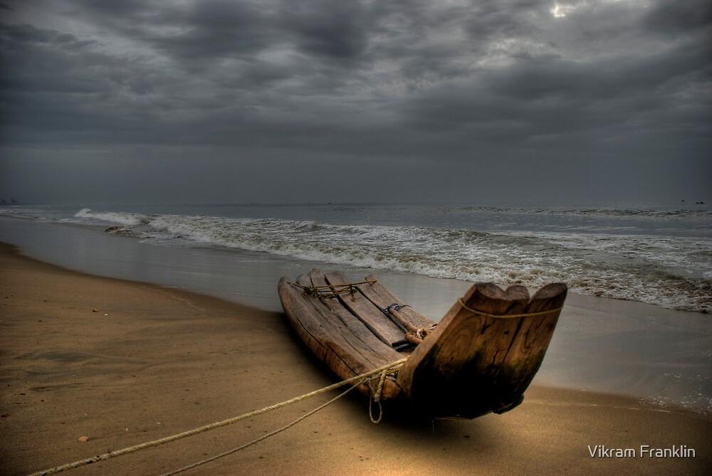 Stormy Skies ... Deep Seas by Vikram Franklin