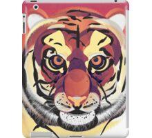 Digital Tiger Illustration iPad Case/Skin