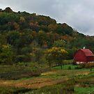 Autumn Barn by Patrick Czaplewski