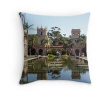 Lily Pond in Balboa Park Throw Pillow