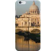 St Peter's Morning Glow - Impressions Of Rome iPhone Case/Skin