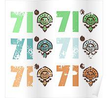 Disney - Polynesian Resort 71 Grid V.01 Poster