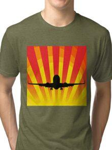 Jet Silhouette6 Tri-blend T-Shirt