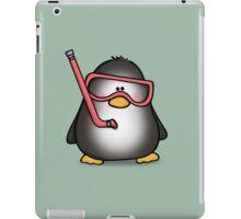 Snorkelling Penguin iPad Case/Skin
