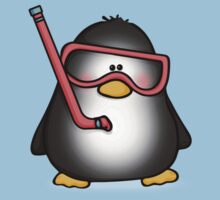 Snorkelling Penguin T-Shirt
