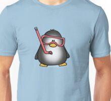 Snorkelling Penguin Unisex T-Shirt
