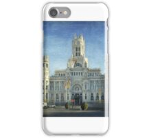 Cibeles iPhone Case/Skin