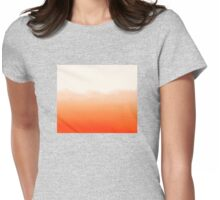 Watercolour Womens Fitted T-Shirt