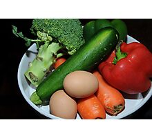 healthy eating Photographic Print