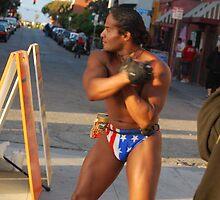 Muscle Man at Venice Beach by Kerplunk409