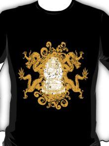 Buddha with Dragons T-Shirt